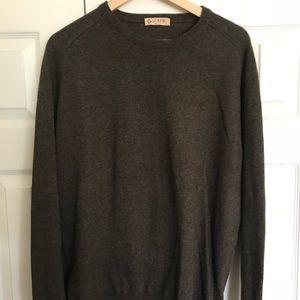 J. Crew Brown Crewneck Sweater